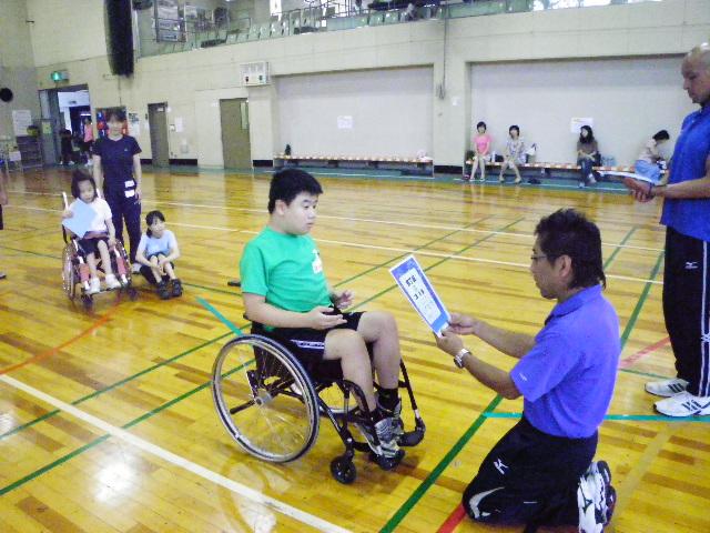 IMGP6117 - ジュニアスポーツ体験教室(身体)より ・・・スポーツを体験しました。