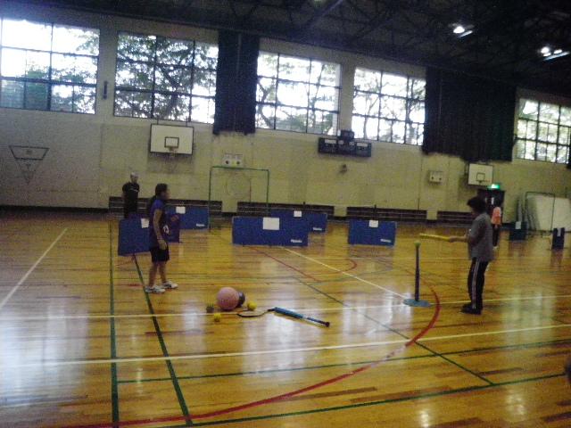 IMGP6804 - レクリエーション教室より ・・・本日は野球(ティーボール)。
