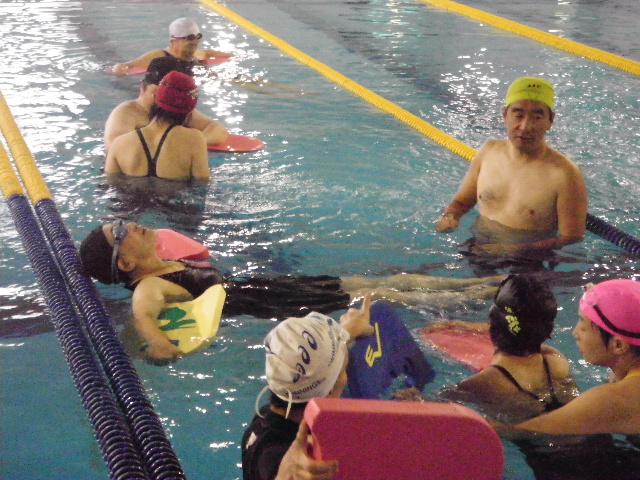 IMGP6940 - 中上級水泳教室より ・・・更に泳力アップを目指します!。