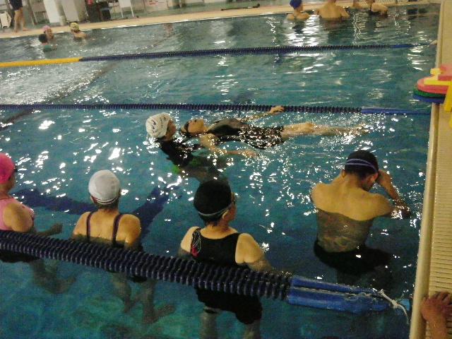 IMGP6962 - 中上級水泳教室より ・・・更に泳力アップを目指します!。