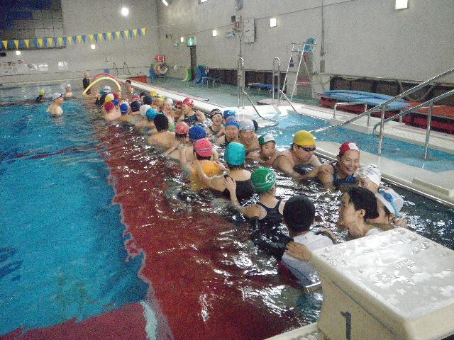 IMGP7129 - 都障水連による水泳入門教室より ・・・昼休みに行っています