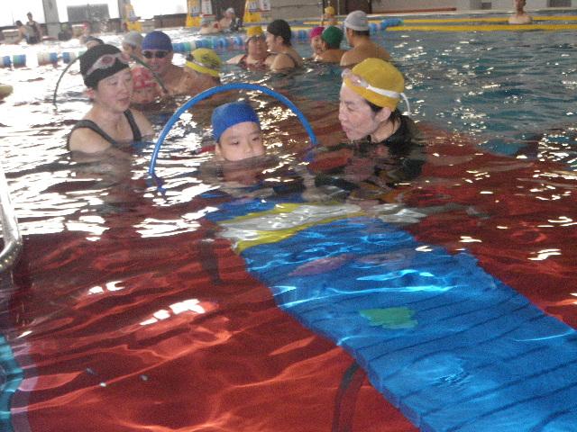 IMGP7135 - 都障水連による水泳入門教室より ・・・昼休みに行っています