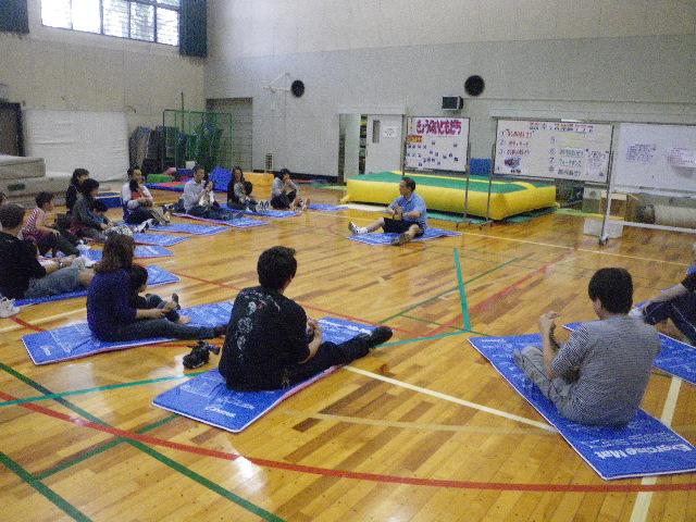 IMGP7550 - 親子で楽しむ重度キッズ体操クラブより ・・・楽しく体操しています。