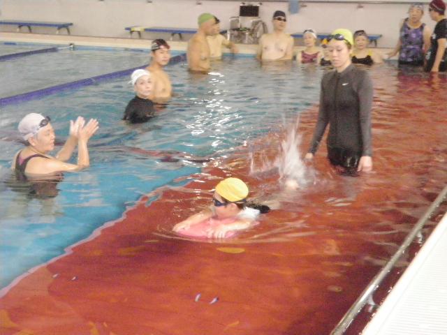 IMGP7809 - 初心者水泳教室より ・・・基本練習をしています!