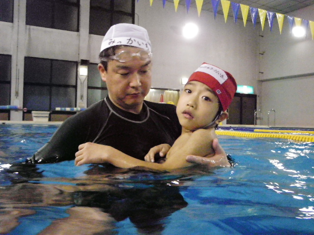 IMGP7960 -  都障水連による水泳入門より・・・ 〜寒さに負けず、がんばっています!〜