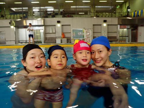 P1290033 - キッズ水泳教室より ・・・二回目です。