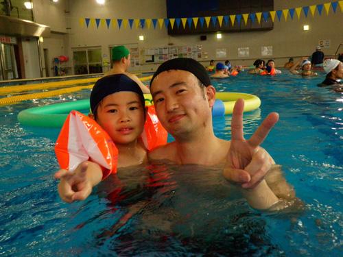 P2190245 - キッズ水泳教室より ・・・4回目です。