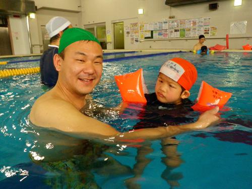 P2190250 - キッズ水泳教室より ・・・4回目です。