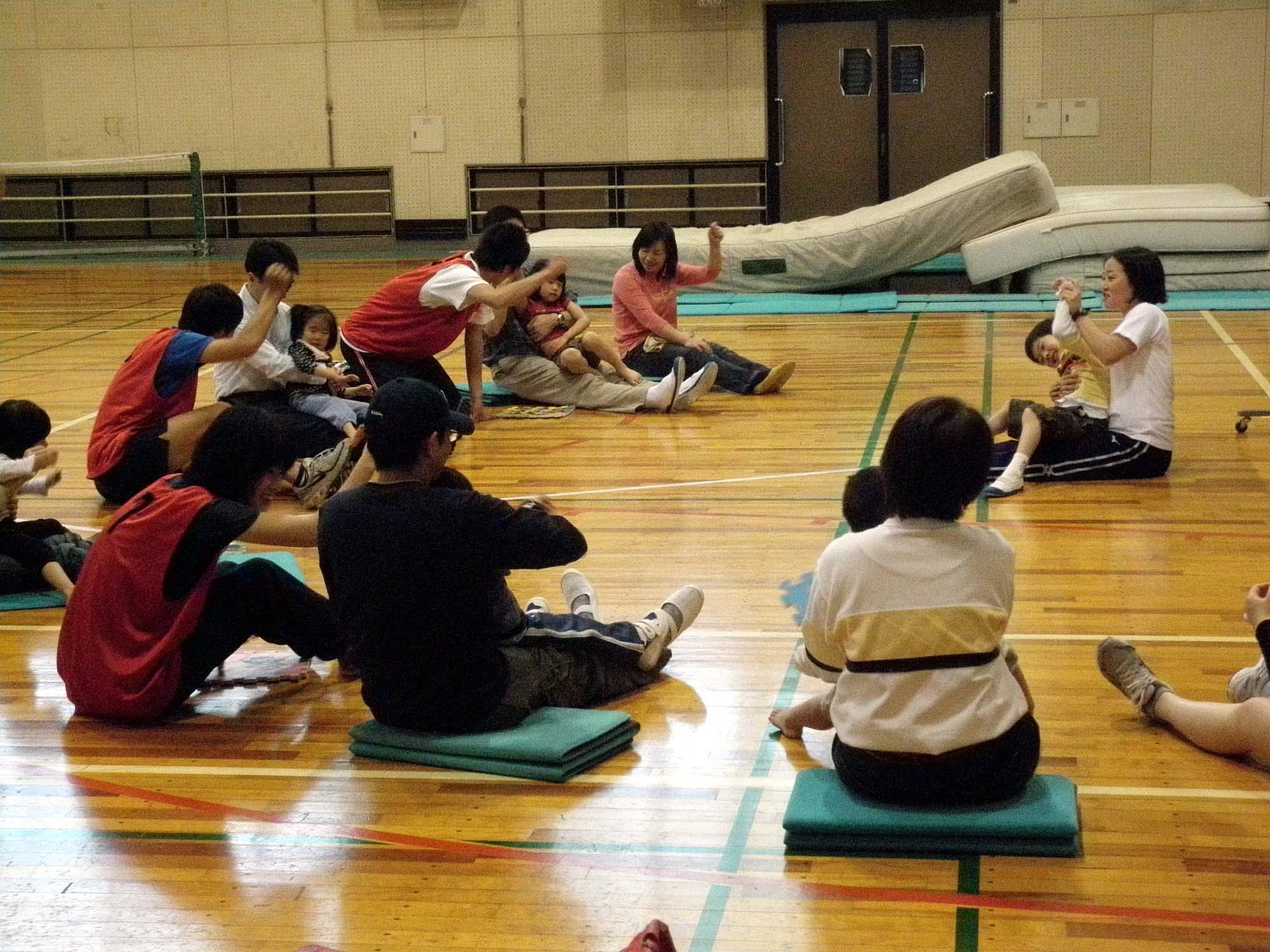 P4260045 - 親子で楽しむキッズ体操クラブ教室より ・・・参加者募集しています!!