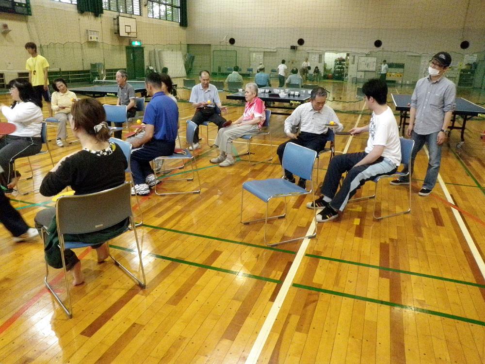 P5070086 - レクリエーション教室より ・・・5月は卓球です。