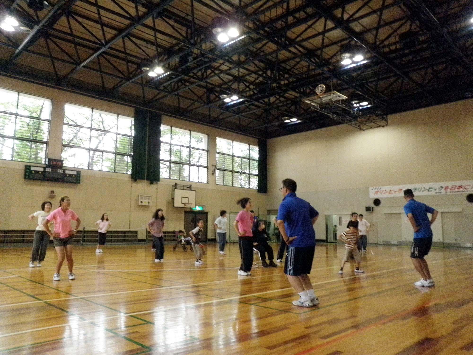 P6130124 - リズム体操教室より ・・・リズムに合わせて楽しく体を動かしています