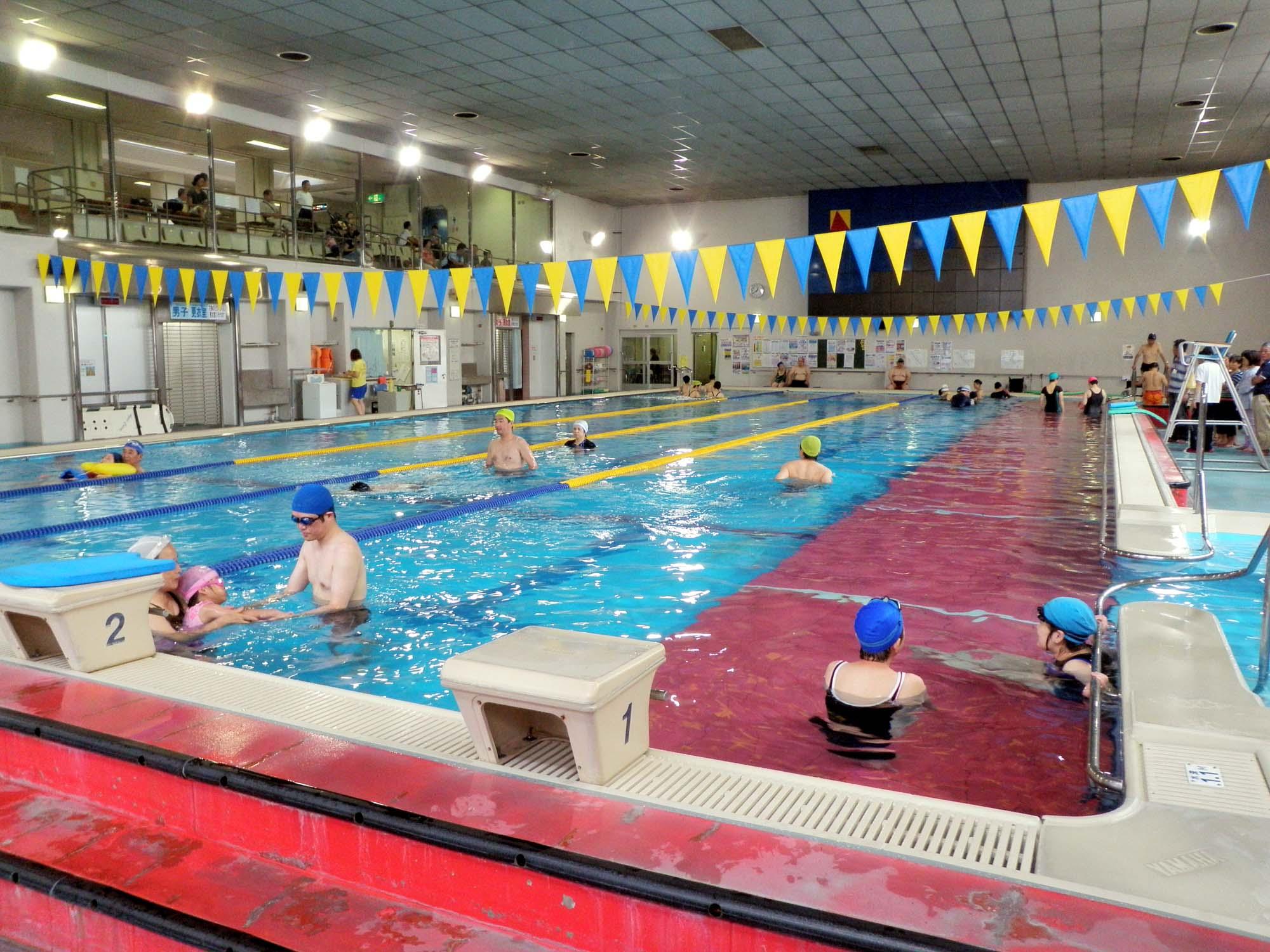 P7180328 - 重度障害者のための水泳教室より ・・・参加が増えてまいりました。