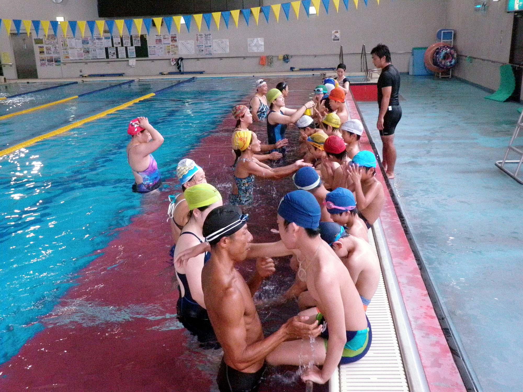 P8060507 - ジュニア水泳教室より ・・・教室はじまりました。
