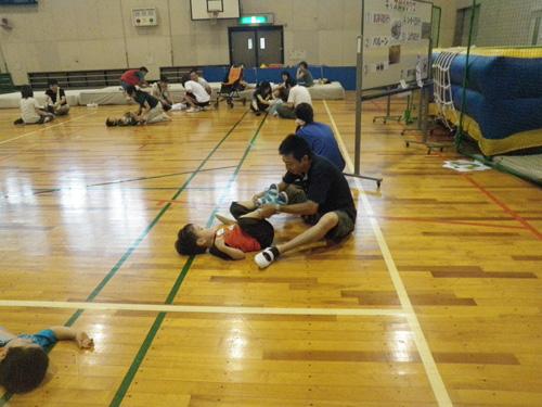 P8220465 - 親子で楽しむキッズ体操クラブより ・・・楽しく体操しています。
