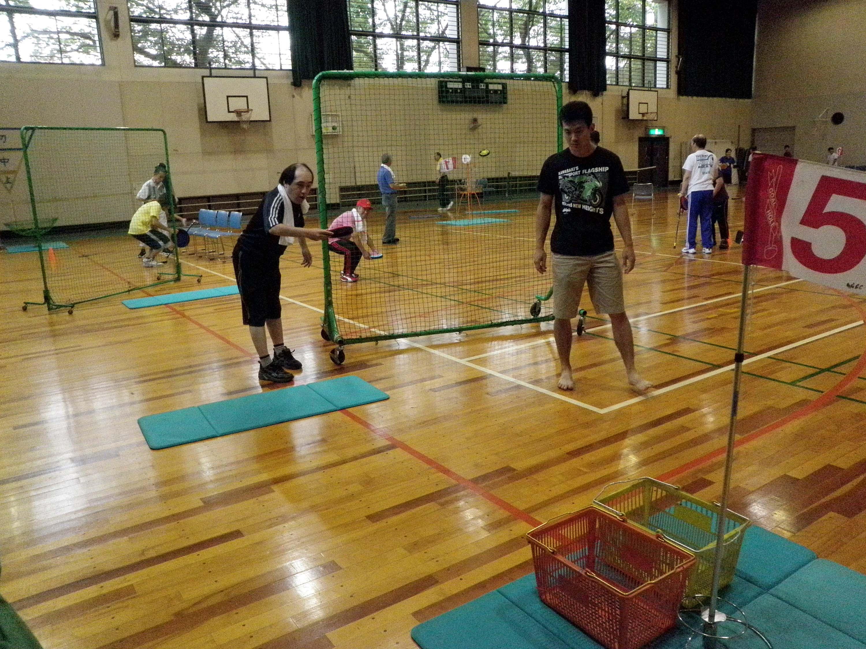 P9010117 - レクリエーション教室より ・・・9月はチャレンジスポーツです。