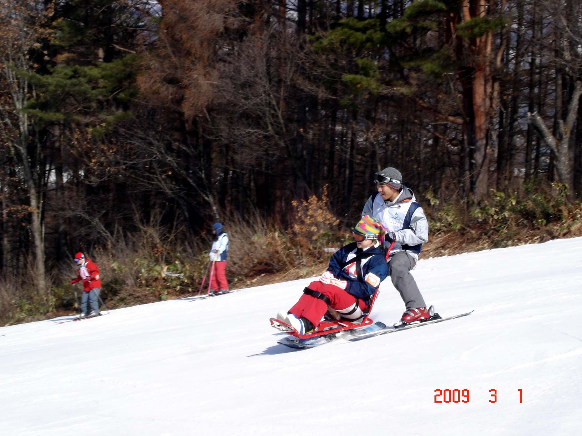 baisuki - スキー教室・・・行ってきました北竜湖!!