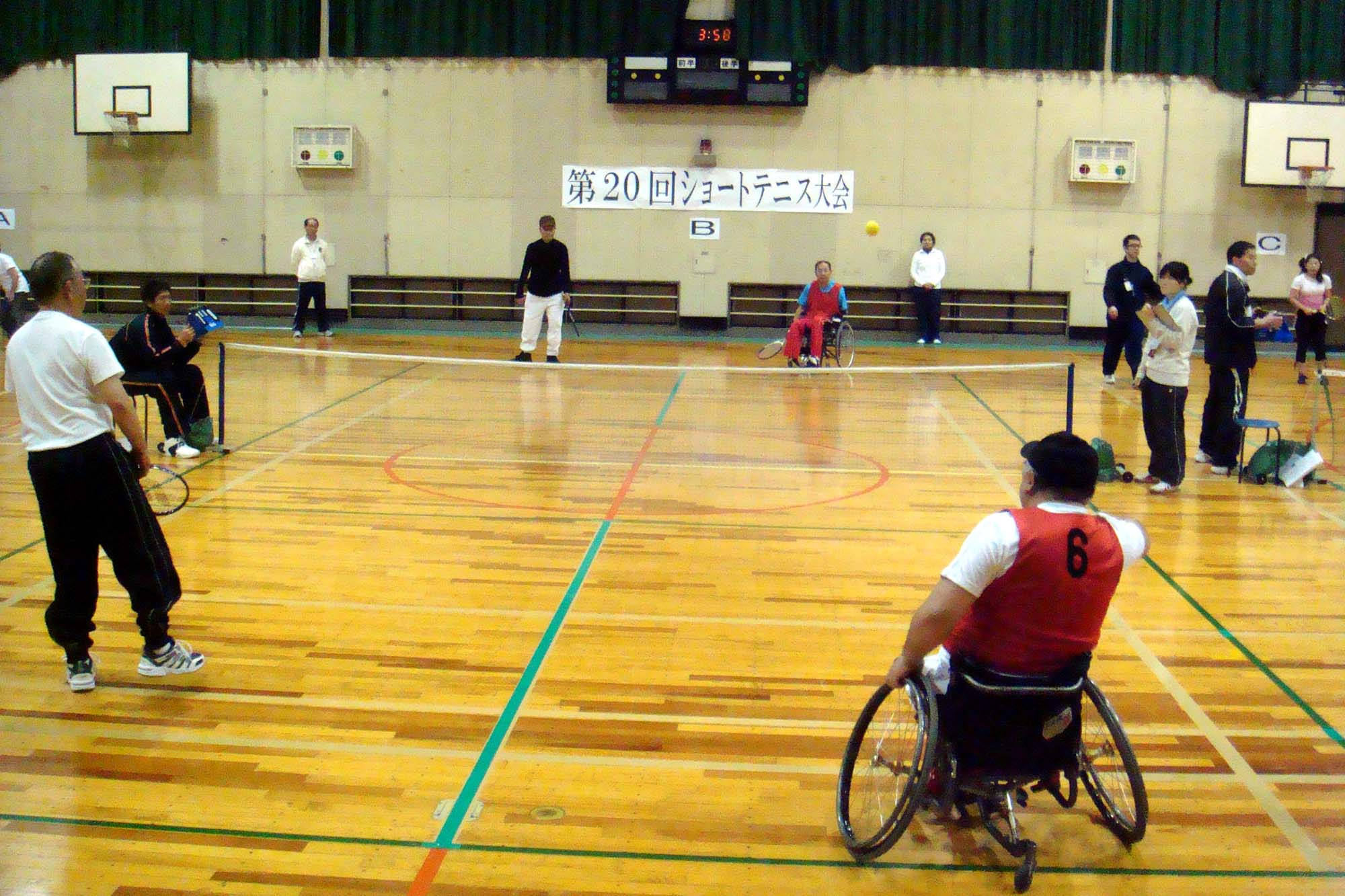 daburusu - ショートテニス大会より・・・多くの参加ありがとうございます!!