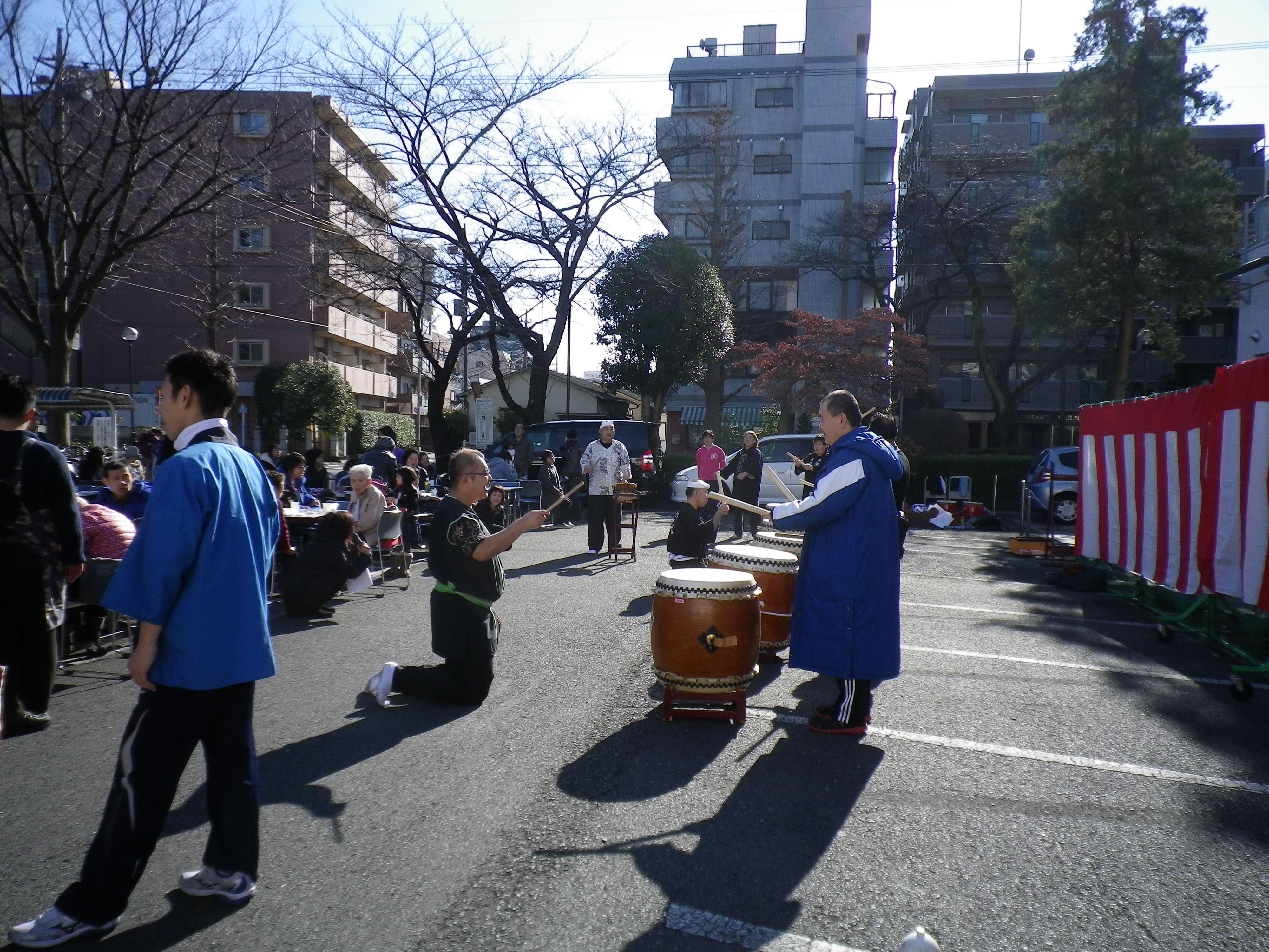 motituki1 - 新春もちつき