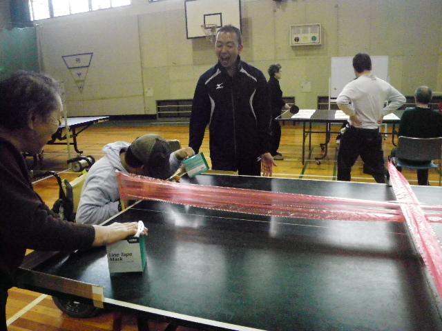 pinpon -  レクリエーション・スポーツ教室・・・ いろいろな卓球を楽しんでいます