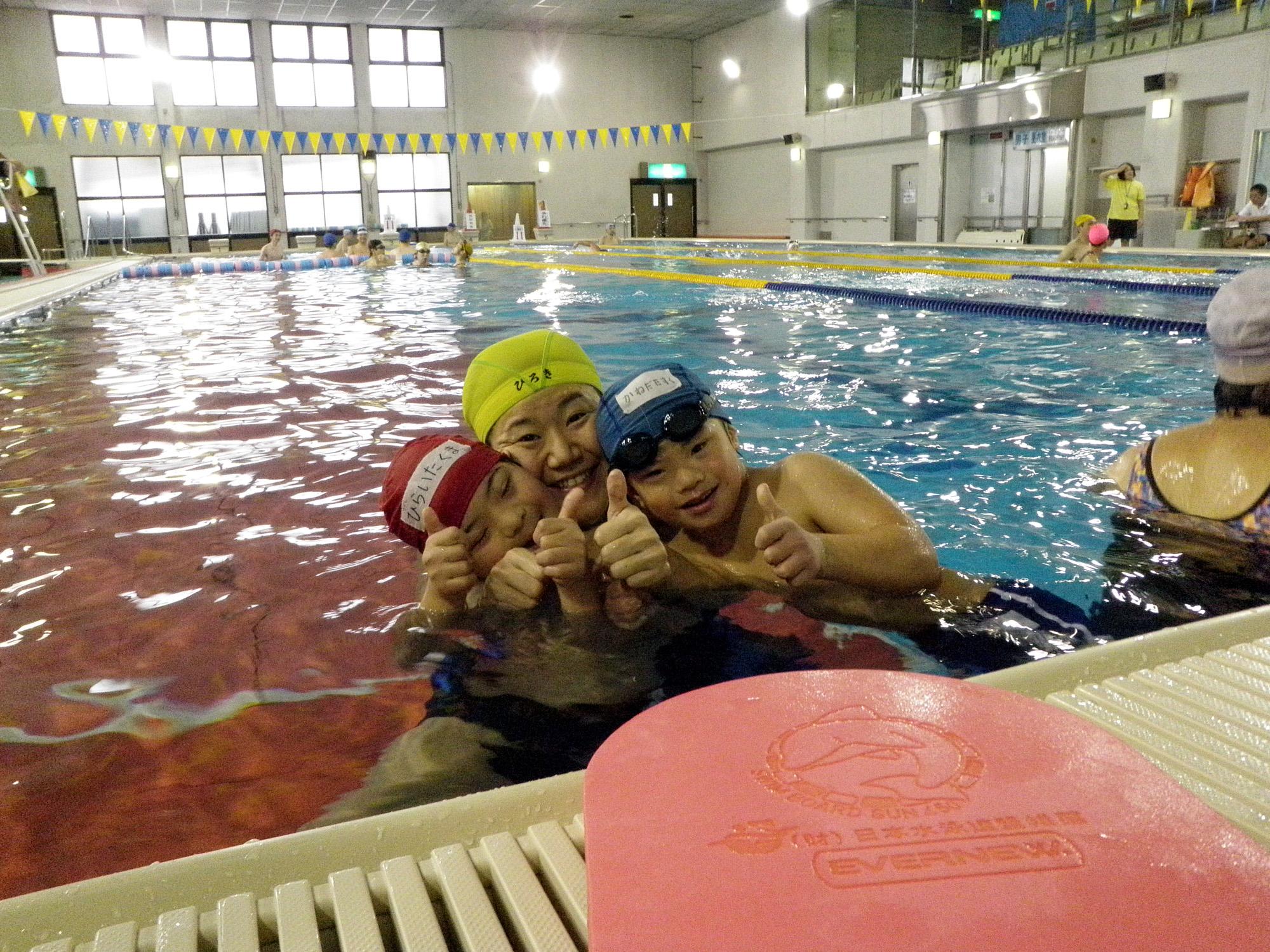suiei - 初心者水泳教室より ・・・がんばっています。