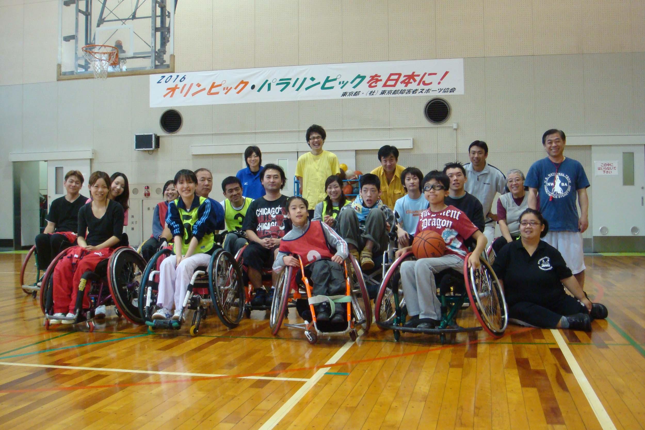 syuugoisyasinn - レッツ車椅子バスケより・・・車椅子バスケットボールに挑戦!