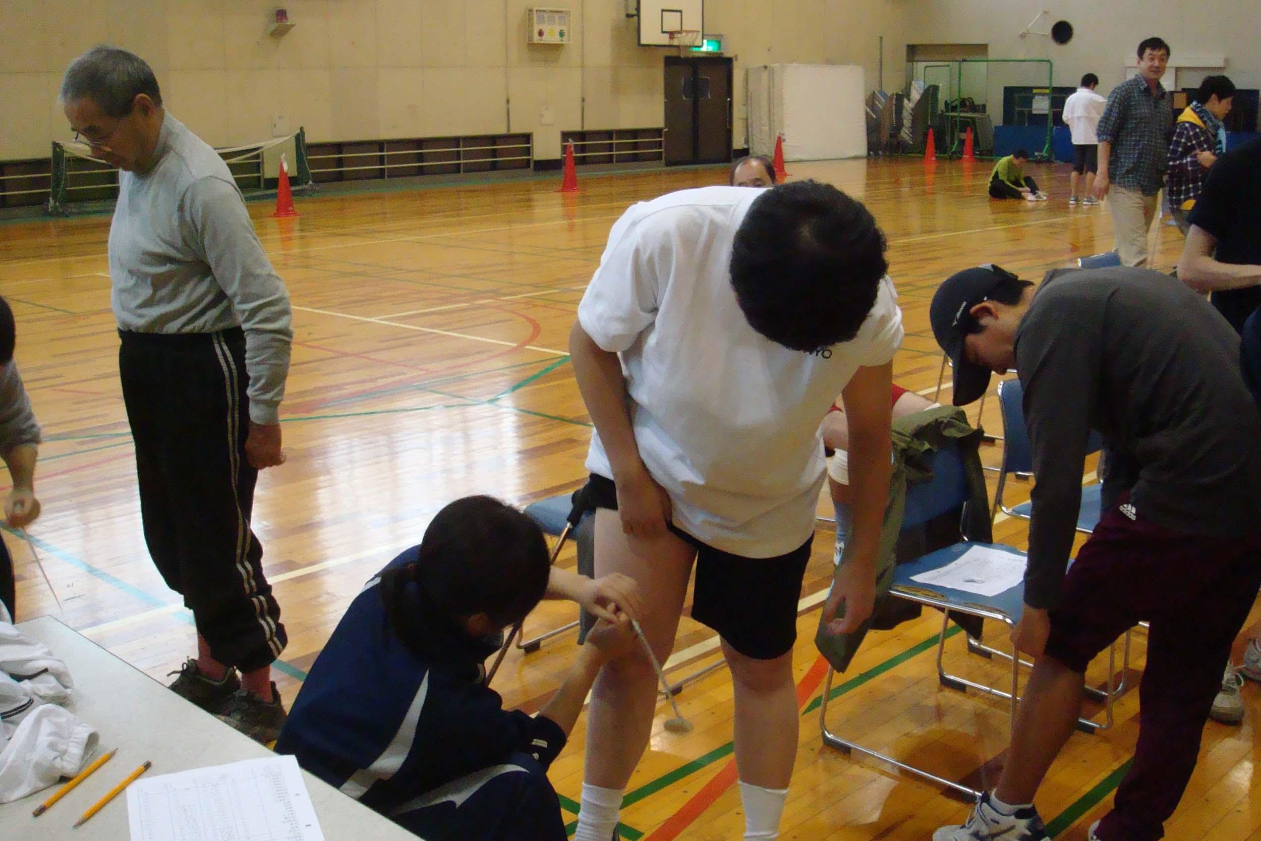 tairyokusokutei - 体力測定より・・・体力チェックしましょう!