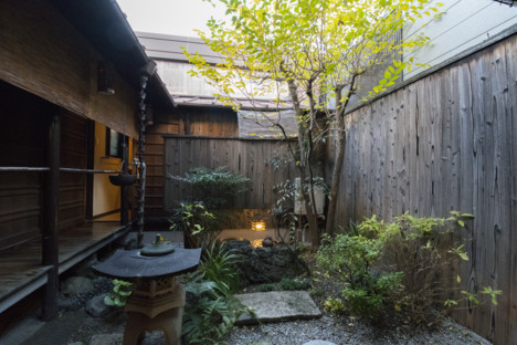 【Naokonoza Bettei Umekoji】there are many sights related to the Shinsen-gumi