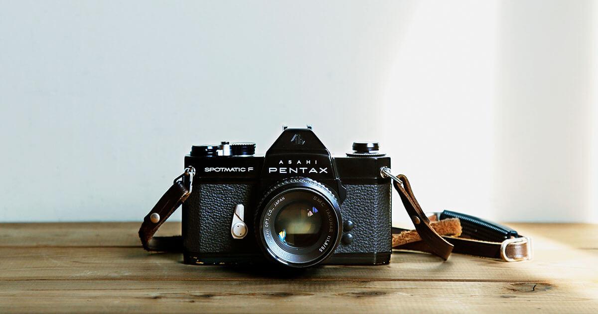父から受け継いだ、初めての自分のカメラ。