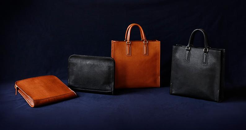 40adfe5dfea3 エイジンングを楽しめる「ウルバーノ」シリーズより、新たに2つのビジネスバッグが登場。 都会的な雰囲気で魅せる縦型の「ダパートールトート」。