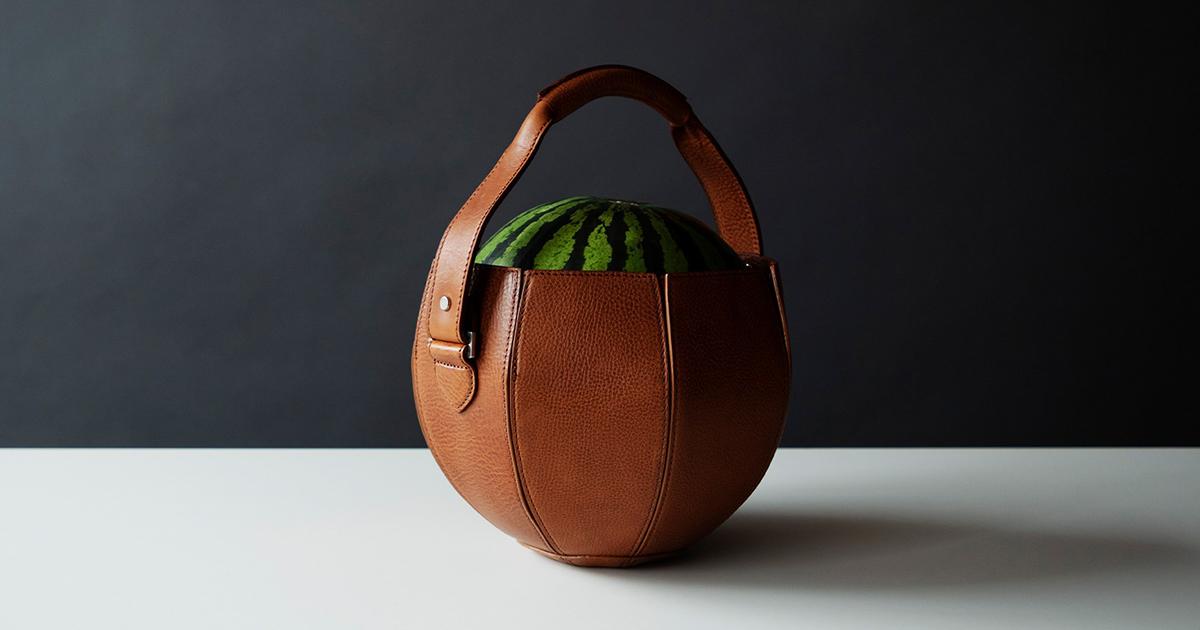 享受「攜帶」的樂趣 Vol.01 西瓜「袋」著走