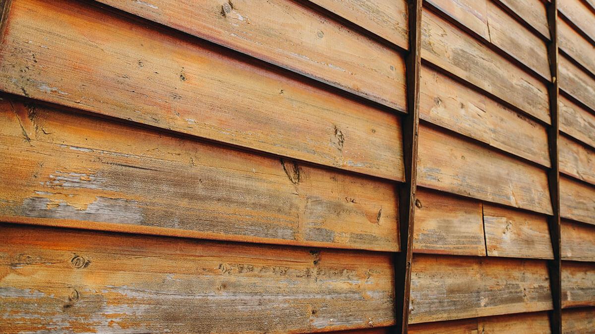 木牆與木樑