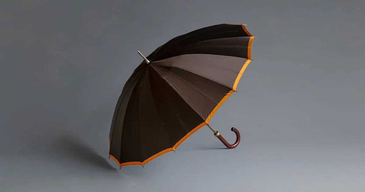 下雨天也能擁有好心情的紳士專用傘