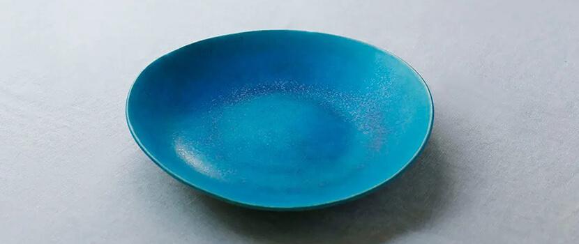 彷彿蔚藍大海般的沖繩器皿