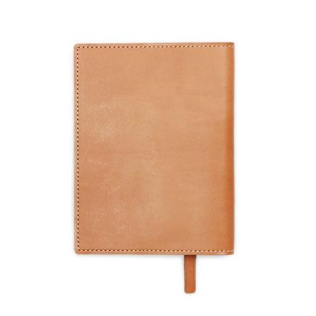 ナチューラ ヌメ革ブックカバー文庫サイズ