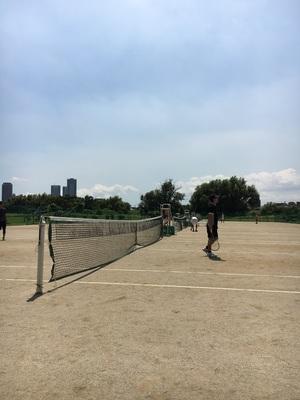 テニスしよー!
