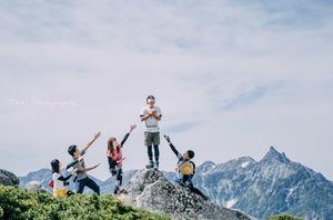 18-28歳限定 初心者9割 土日活動 登山サークル ホムペ インスタみてください❤️
