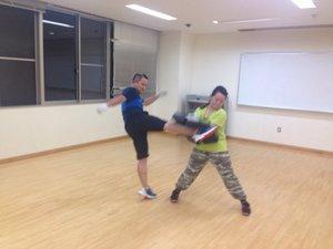 浜松空手&格闘技フィットネス!in花川運動公園