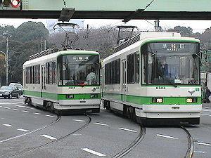 駄菓子屋と路面電車と動物園 with 都電荒川