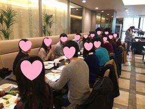 ★8/20 東京駅の恋活・友達作りランチパーティー ★