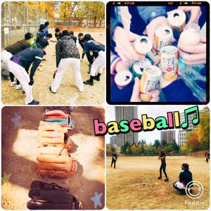 ✨⚾️草野球⚾️✨