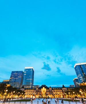 東京駅で夜景撮影!