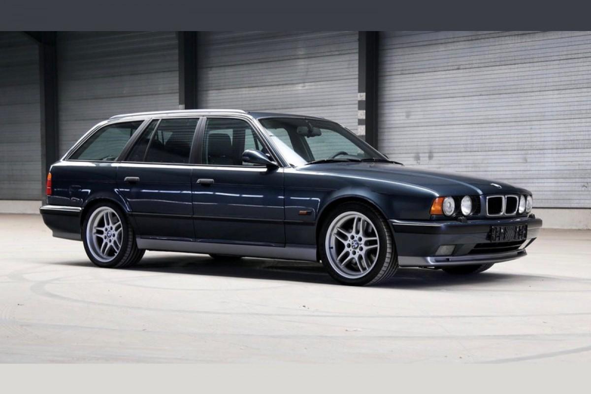 想要BMW M旅行車嗎?這有一輛罕見稀有的BMW E34 M5 Touring線上拍賣