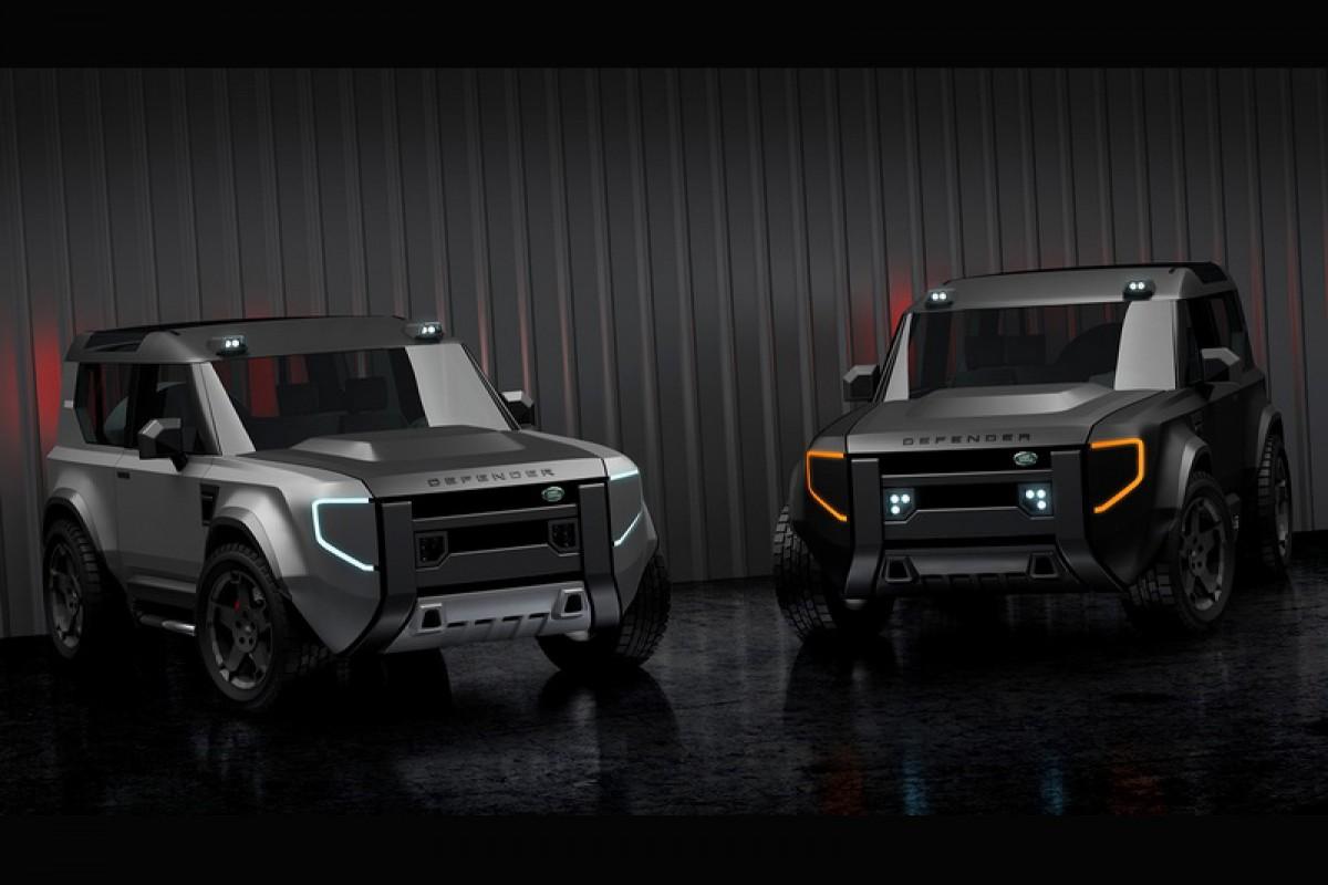 塔塔汽車為挽救Land Rover業績,有可能推出小一號的Baby Defender?