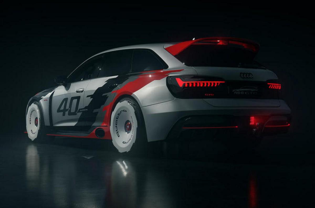 改成這樣的Audi RS 6 GTO讓原廠設計師都佩服