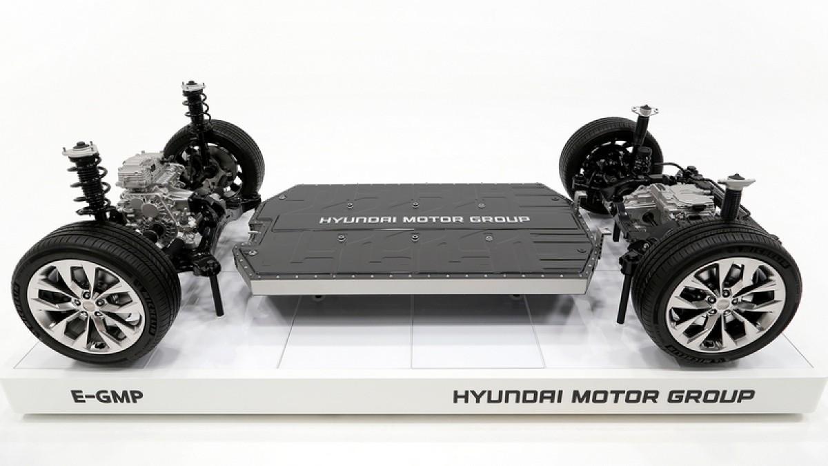 Hyundai公布E-GMP電動平台規格,Ioniq 5會是首搭載車型