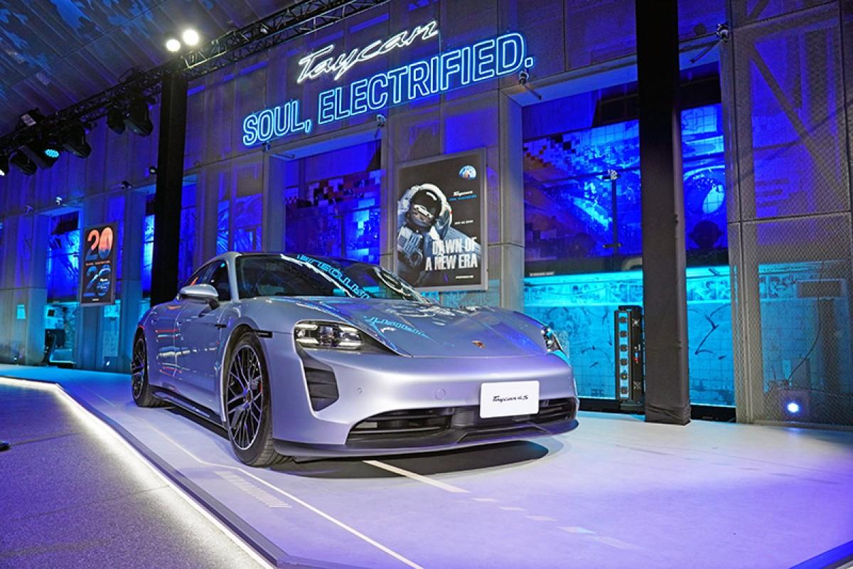 473萬起,Porsche首部純電跑車Taycan正式在台電掣登場