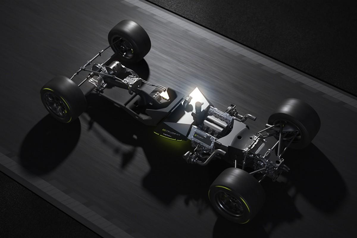 Peugeot發表2022重返WEC LMH組別賽事Hypercar賽車動力總成「PEUGEOT HYBRID4 500KW 」。