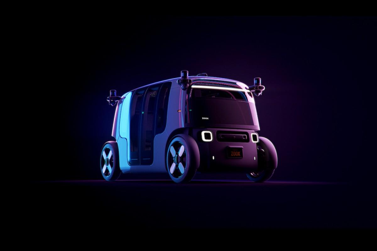Amazon旗下Zoox無人電動計程車robotaxi即將上路接客