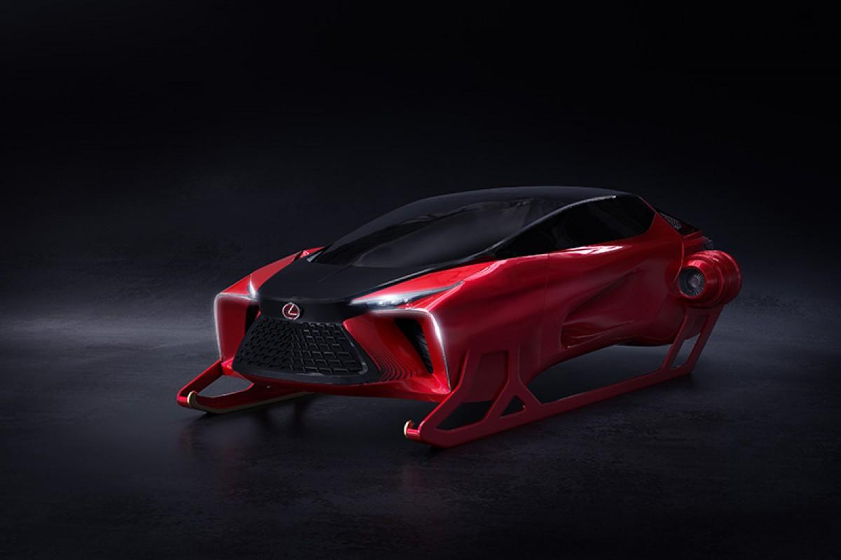 因應疫情,聖誕老公公將換上有獨立座艙的Lexus HX Sleigh Concept概念雪橇送禮物!