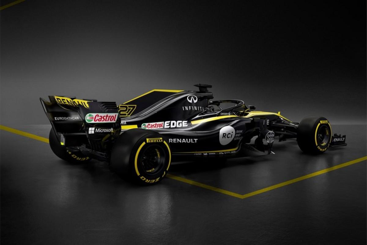 Infiniti結束10年與贊助F1車隊和合作關係